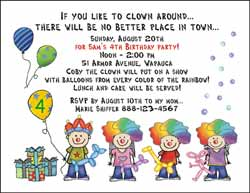 Juvenile Birthday Invitations From Pen At Hand Stick Figure