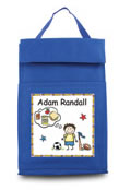 personalized lunch sack