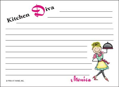 Recipe Cards from Pen At Hand - Stick Figure Products by Ronnie ...