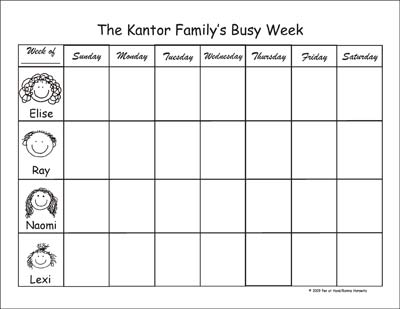 photograph about Weekly Family Planner named Weekly Planner Pads towards Pen At Hand - Adhere Determine Goods