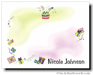 personalized theme card birthday