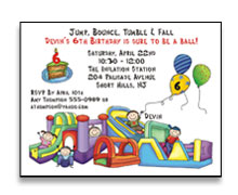 Kid Party Invitations